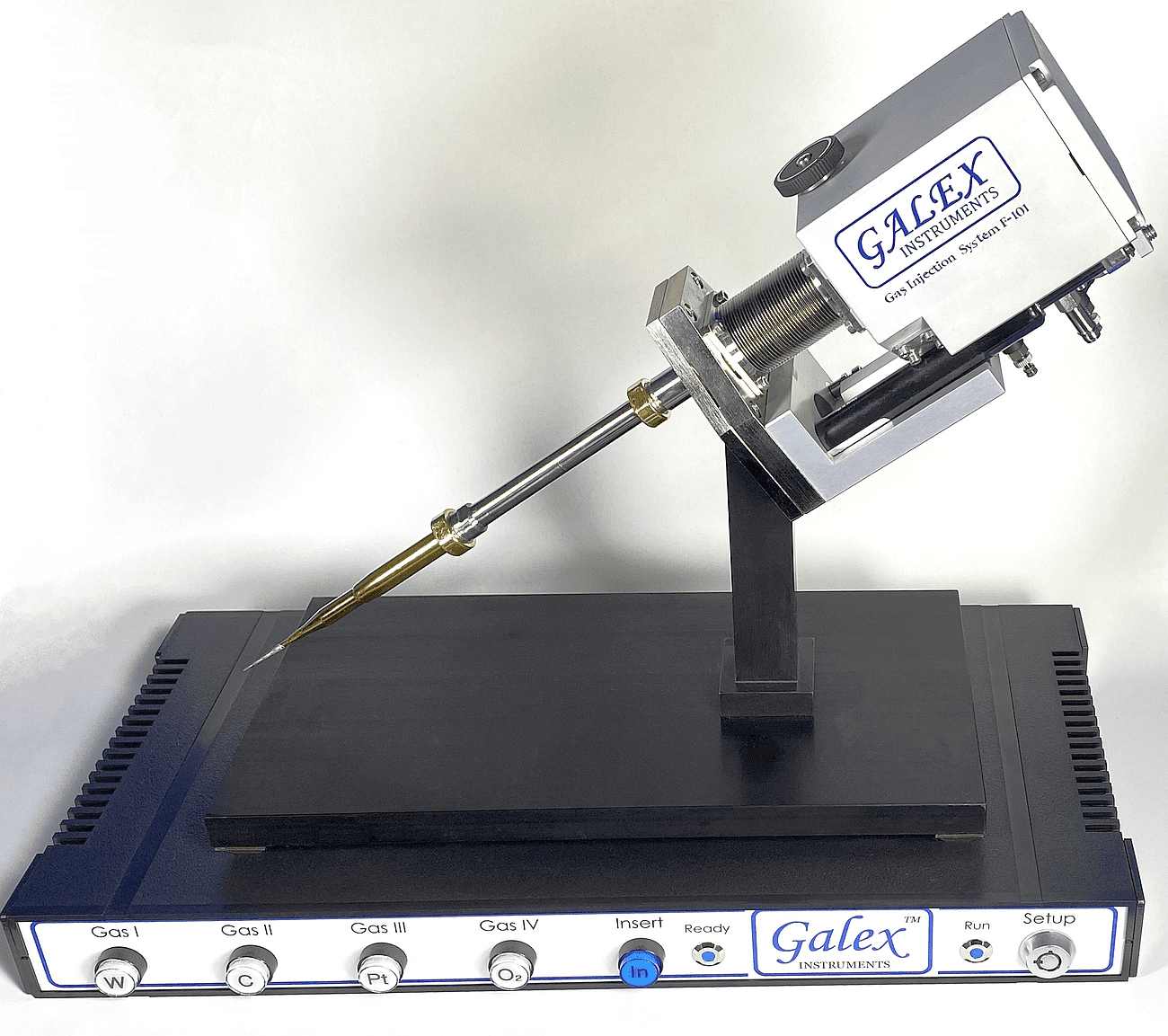 Deposition Gas-Injection System (D-GIS) for delivery Platinum, Carbon, Tungsten, Molybdenum deposition precursors in Focused Ion Beam (FIB) and dual-beam FIB/SEM