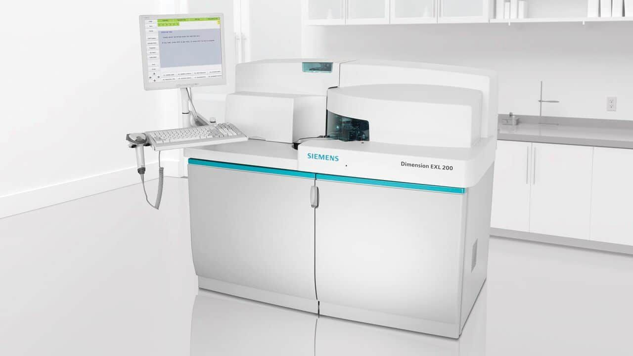 Siemens Dimensions EXL 200 with LM