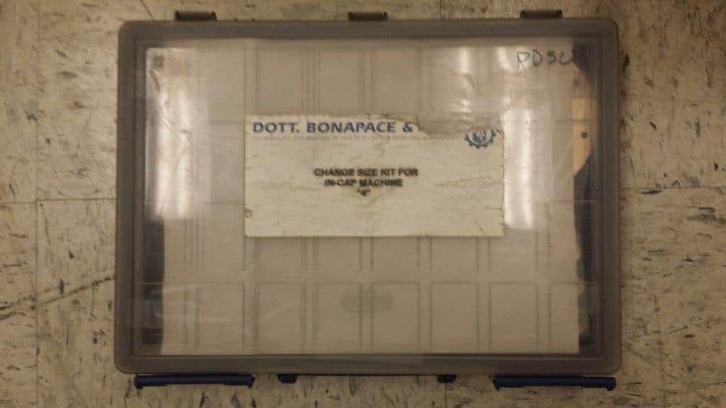 Dott Bonapace IN-CAP Liquid & Powder Capsule Filler - RECONDITIONED