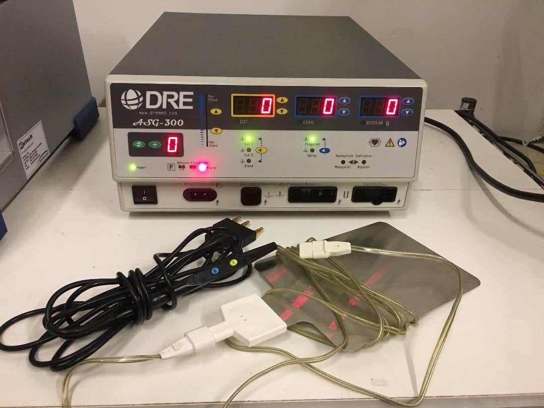 DRE ASG-300 Electrosurgical Generator - Still in lab
