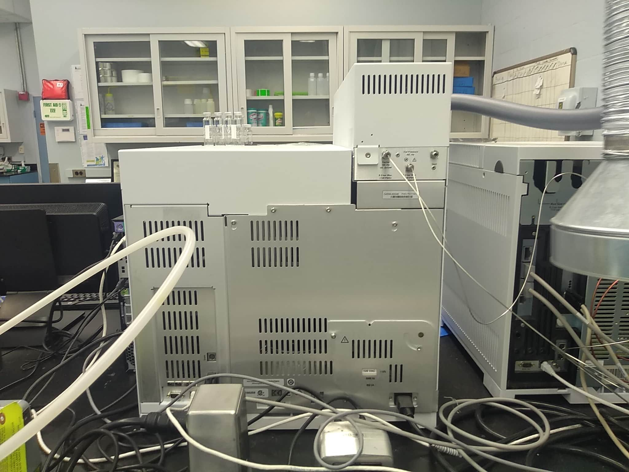 Agilent 5977A MS, 7890B GC w/ 7697A Headspace analyzer, Complete system
