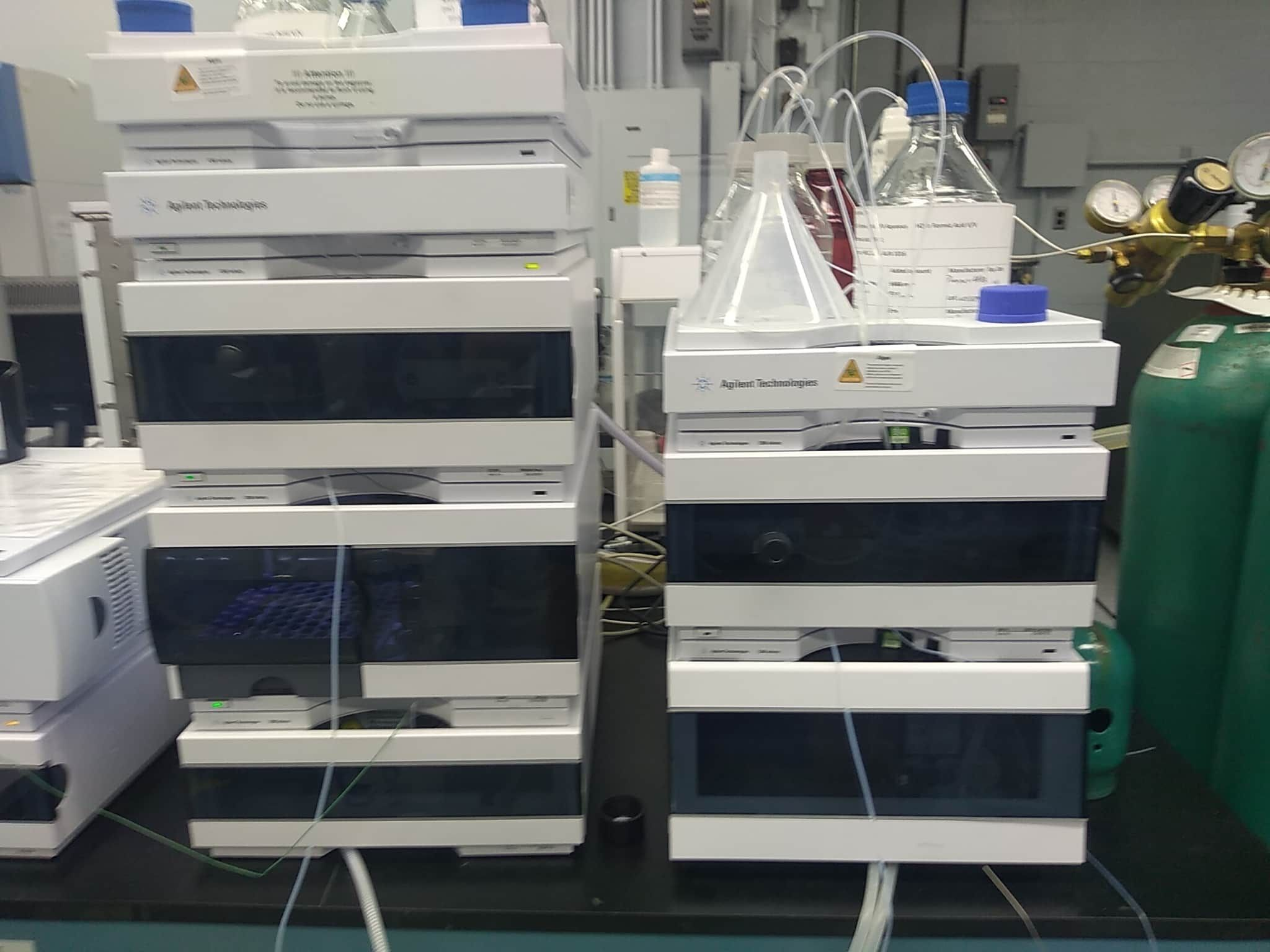 Agilent 1260 Infinity chromatography HPLC Complete system