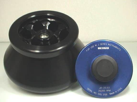 Beckman JA-25.50 Centrifuge Rotor , Single Lock Lid, 8 x 50 mL, 25,000 rpm, 75,600 x g