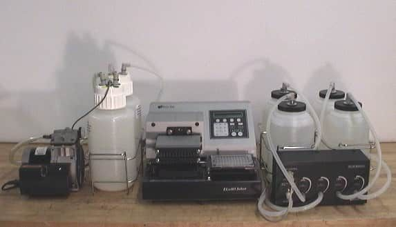 BioTek ELX405 UVS Select Microplate Washer with Optional Accessories