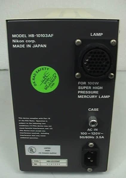 Nikon EFD-3 HFX Optiphot Microscope