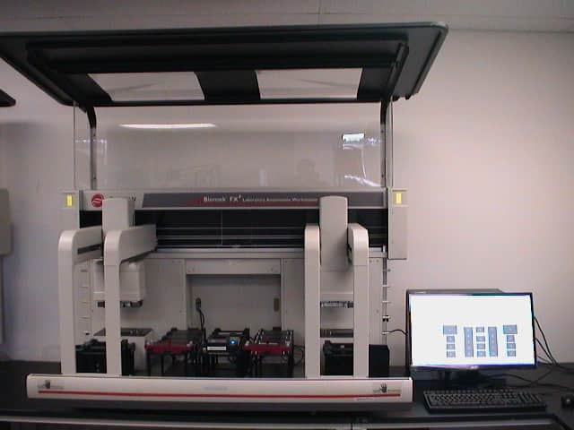 Beckman Coulter Biomek FXp Dual 96 Arm P200/96 and P20/96 Automation workstation