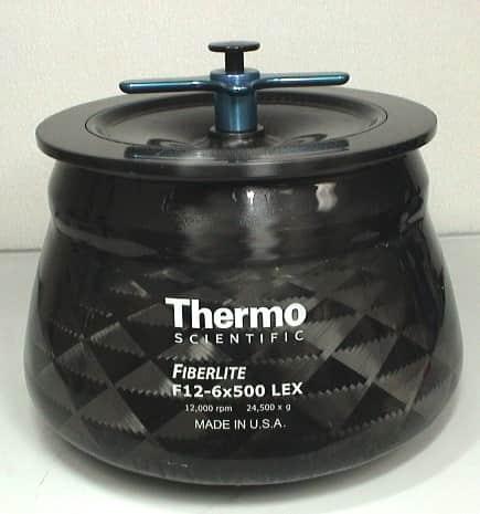 Thermo Scientific Fiberlite F12-6x500 LEX Centrifuge Rotor