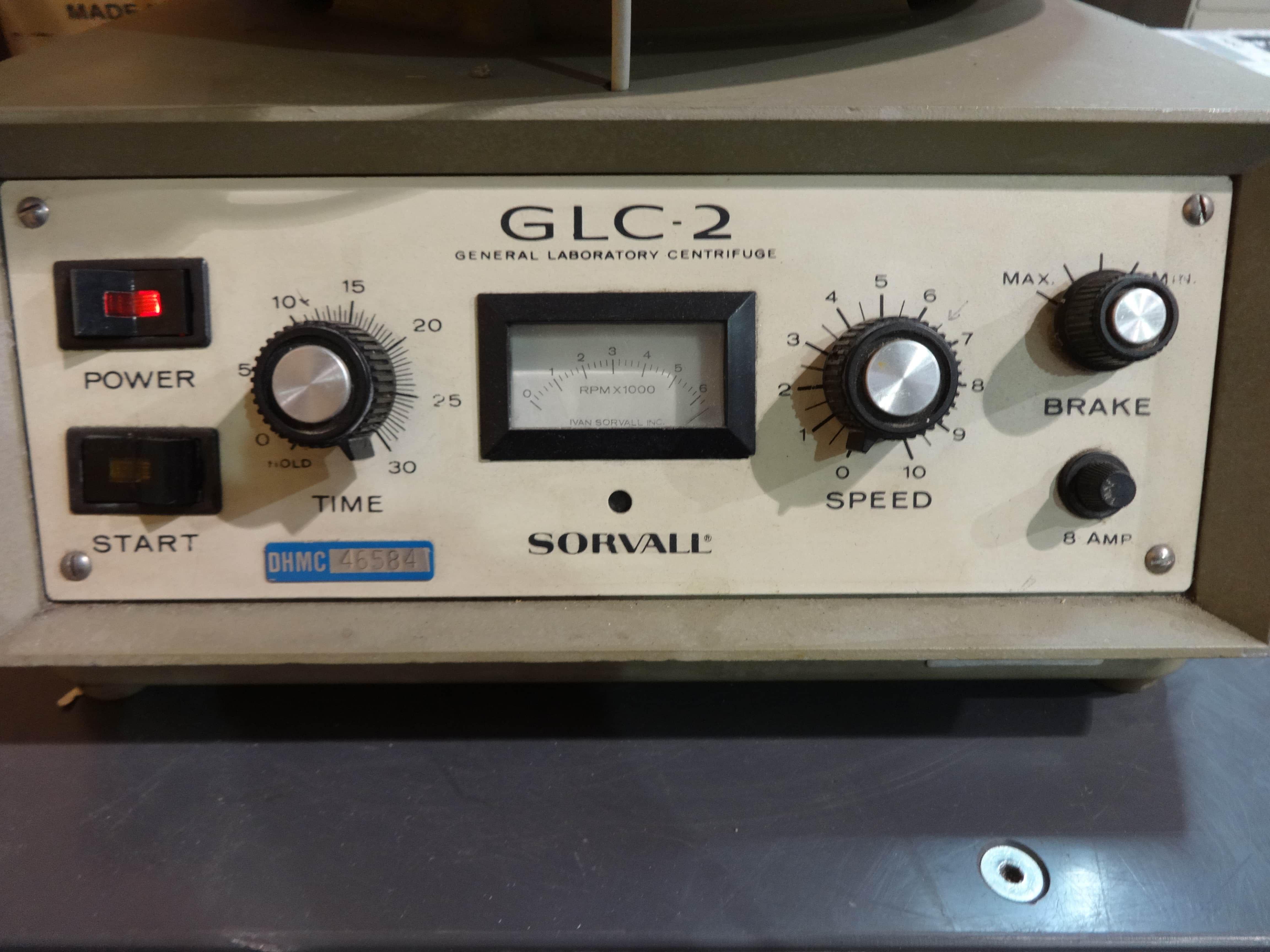 Sorvall GLC 2 Centrifuge