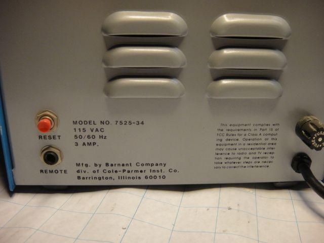 MasterFlex Digi-Staltic Model # 7525-34 w/ 7021-20 head
