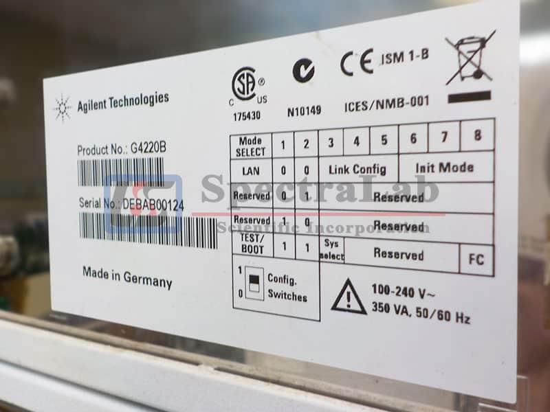 Agilent 1290 HPLC System with 1260 G4218A ELSD