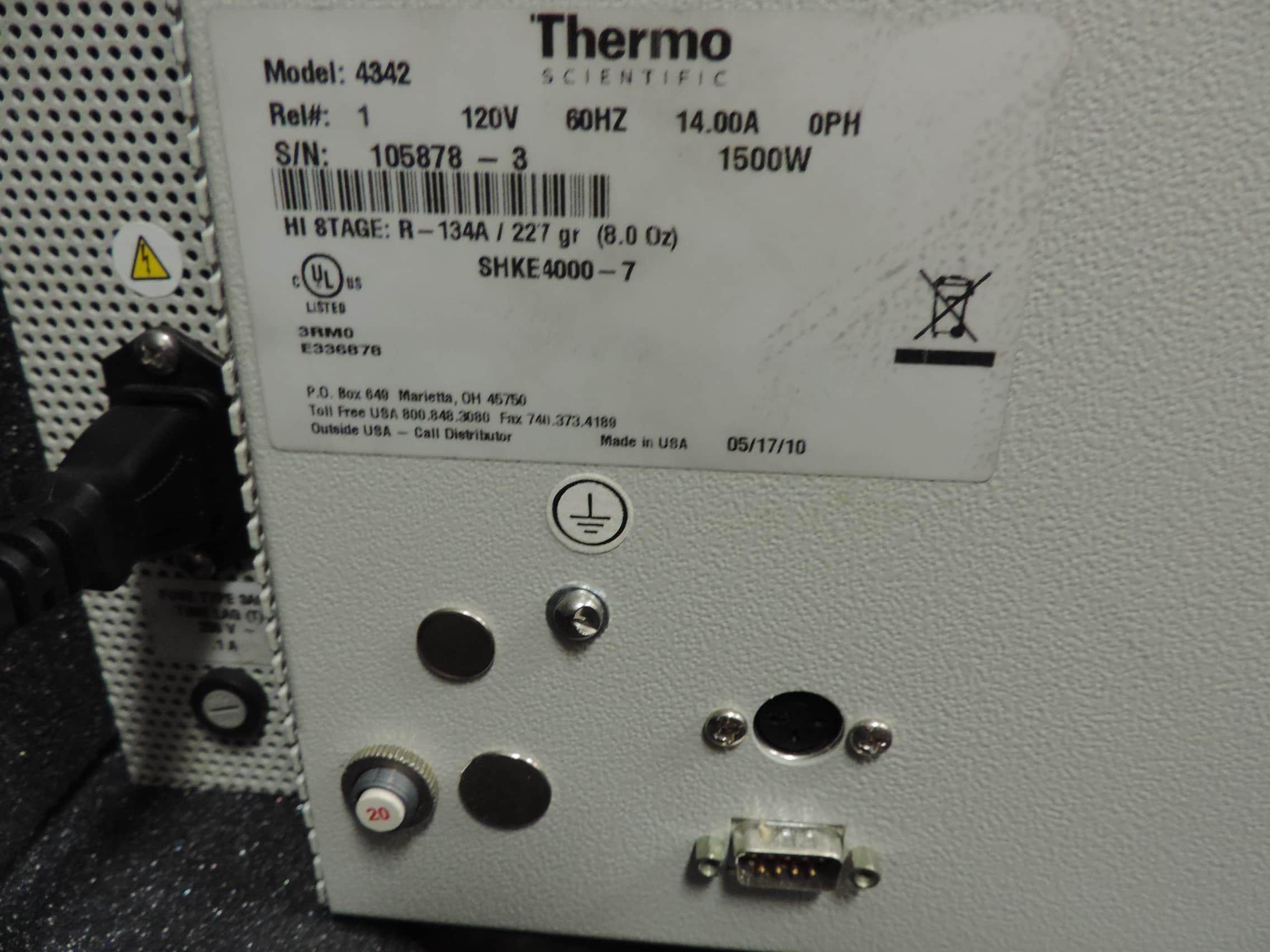 Thermo™ MaxQ 4000® Incubator/Chiller/Shaker (Model SHKE-7000-4542)