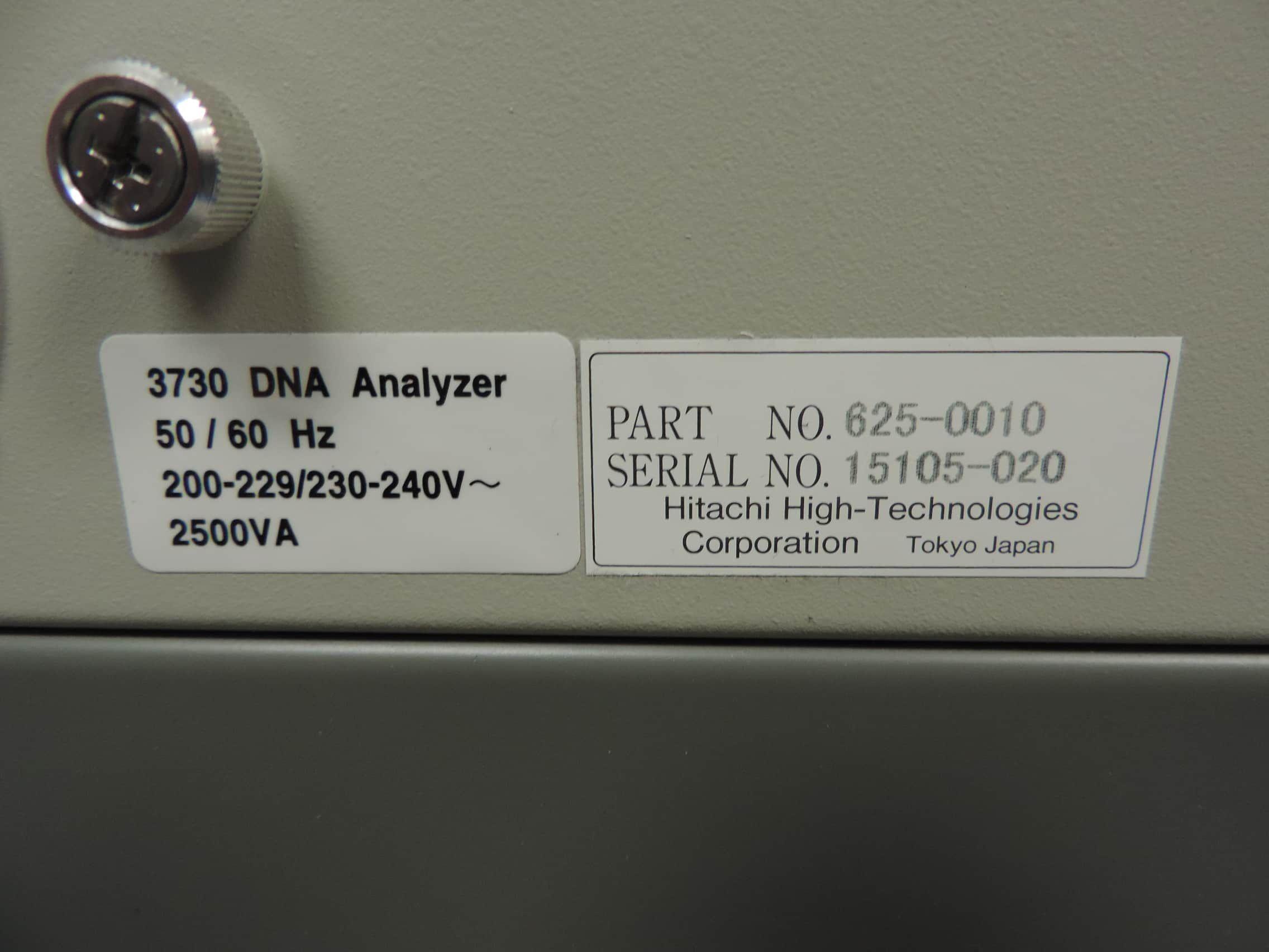 ABI 3730 DNA Sequencer, Rebuilt