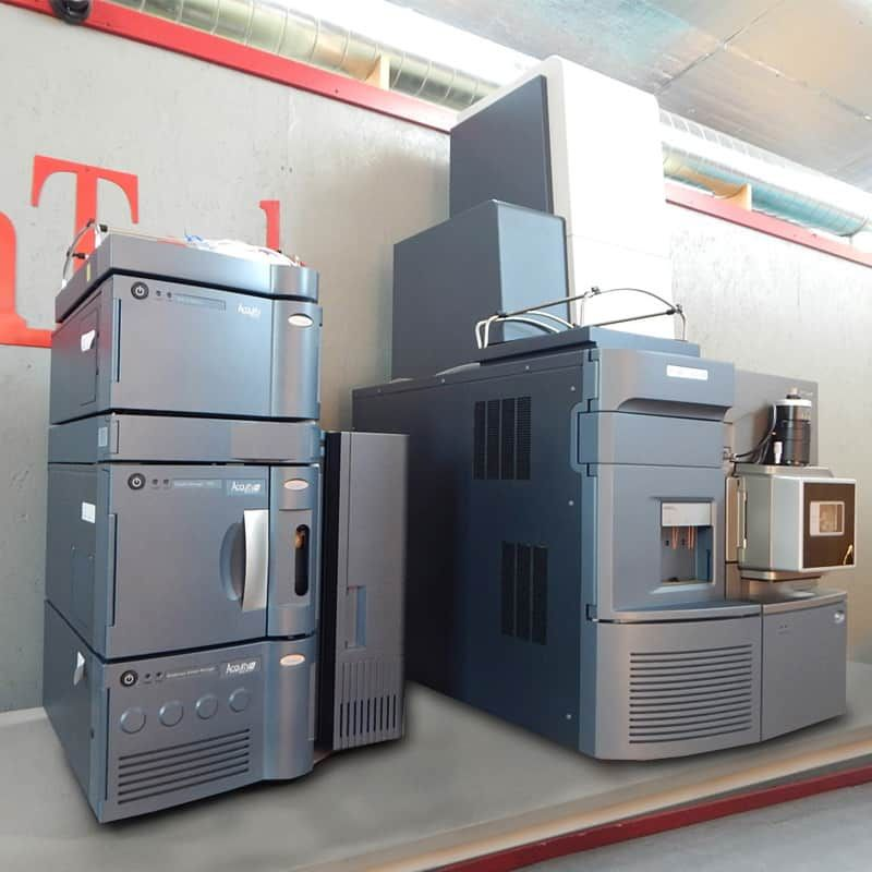 Waters Xevo G2-S Q-ToF MS with Acquity UPLC