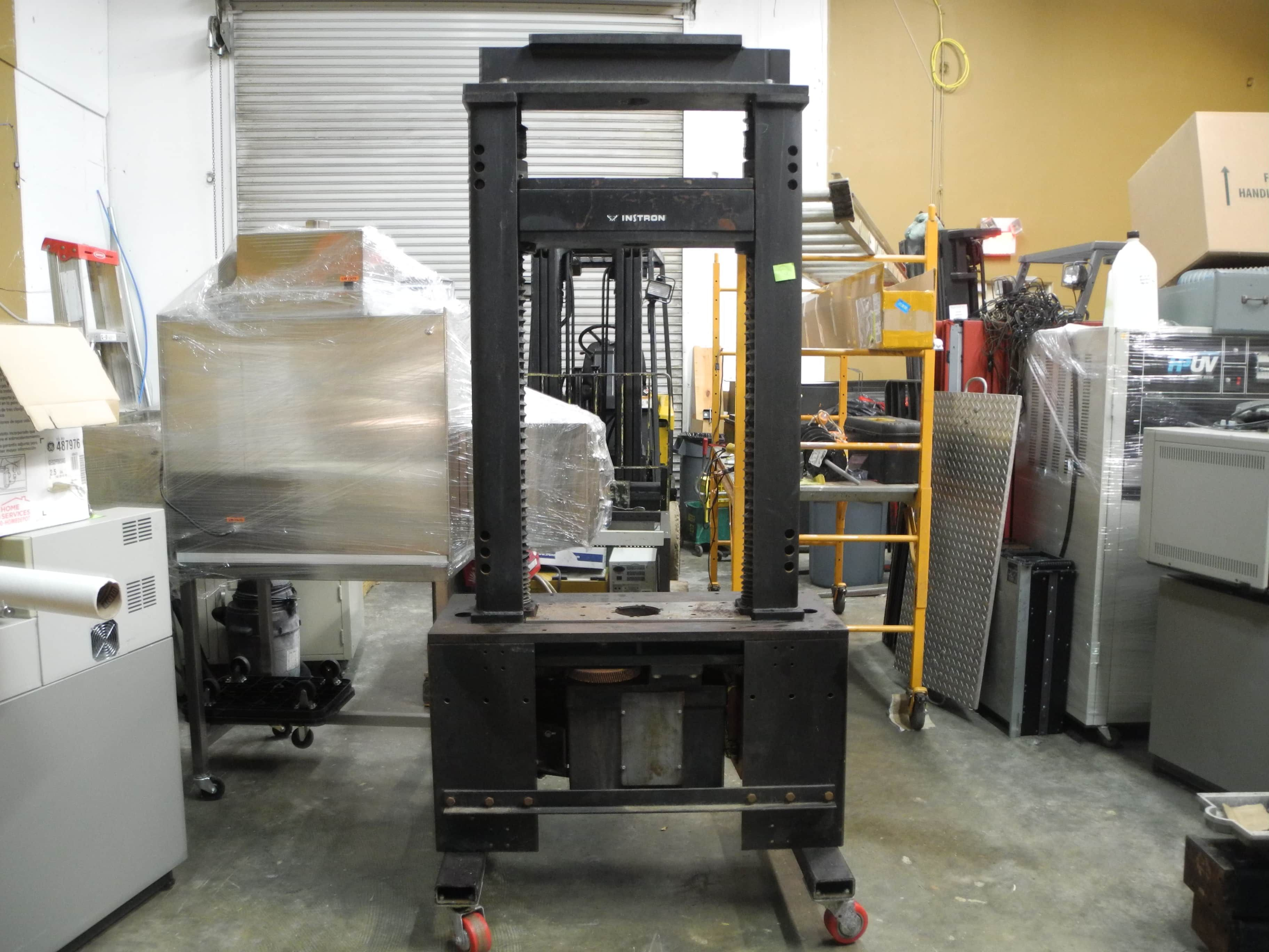 Instron 1125 Extra Long Universal Load Frame 20,000lb Tensile Testing