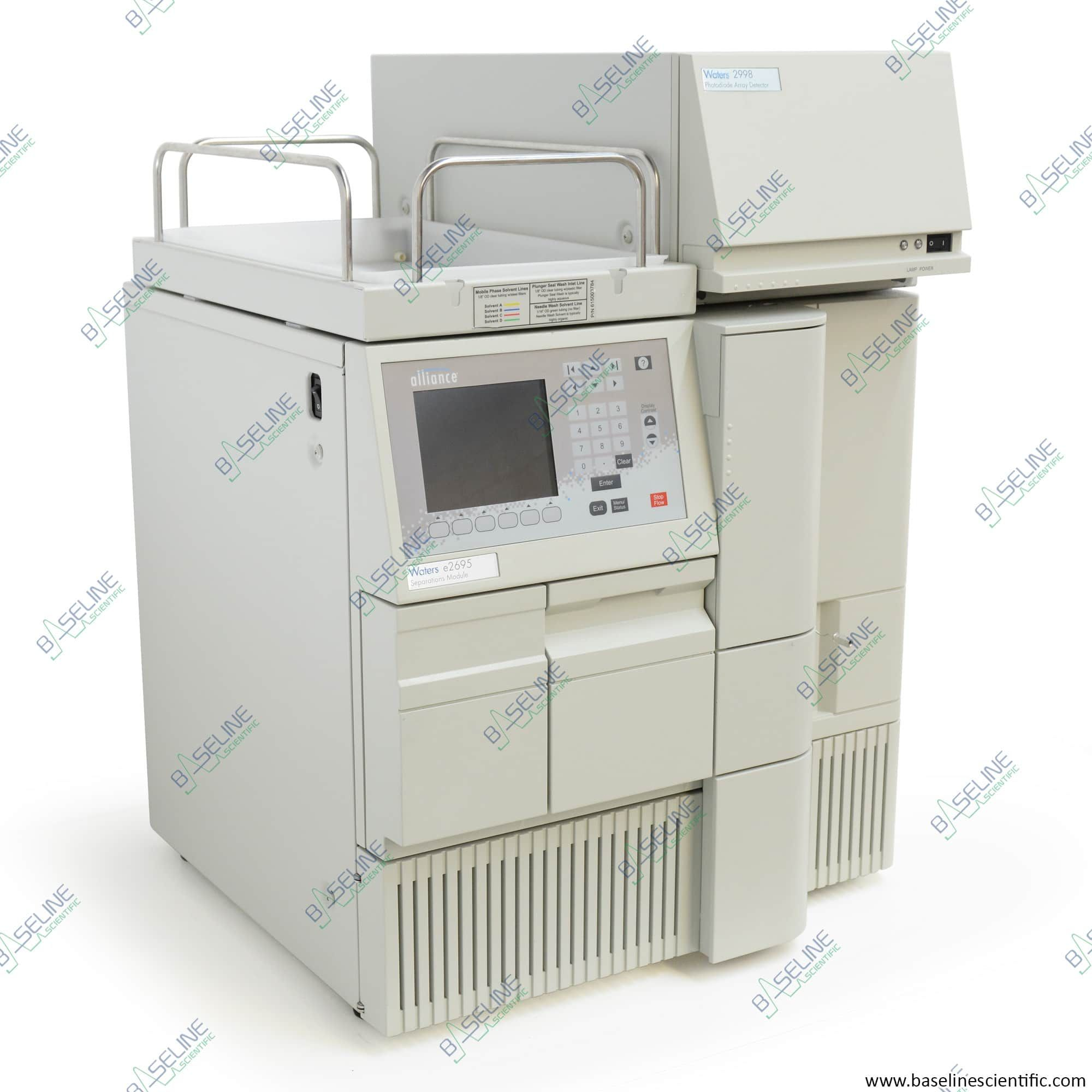 Refurbished Waters Alliance e2695 with 2998 PDA with ONE YEAR WARRANTY