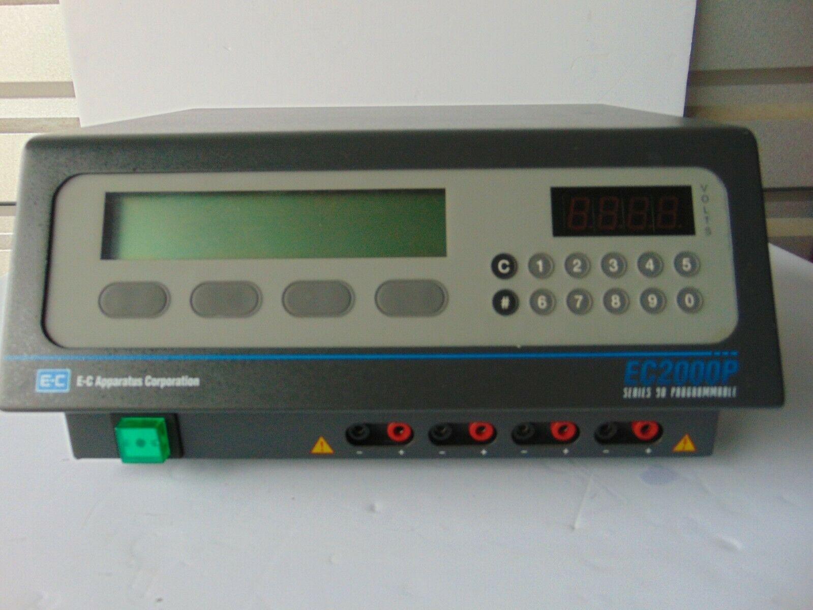 EC Apparatus Corporation EC 2000P Power Supply