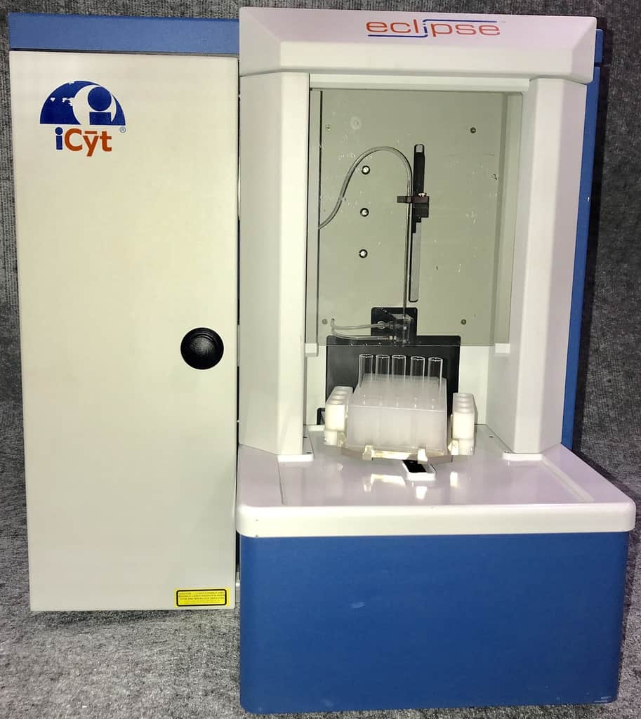 iCyt Eclipse Flow Cytometry Includes Fluidics Cart