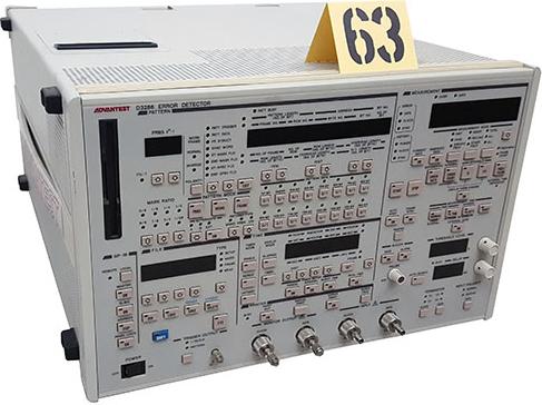 Advantest D3286 Test and Electronics Pulse Pattern Generator/Error