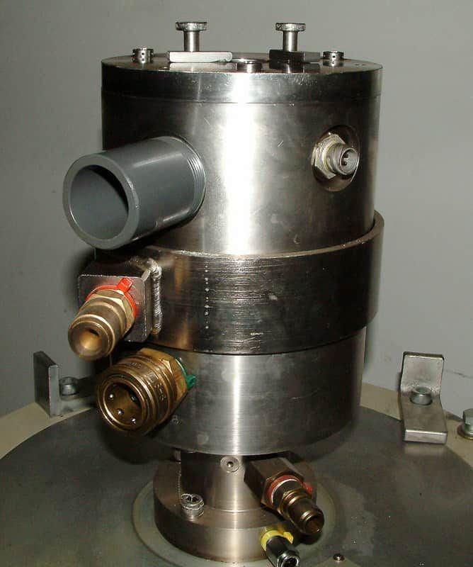 ELECTRO-NUCLEONICS, ALFA WASSERMANN ULTRACENTRIFUGE, ROTORS, MODEL K MARK II