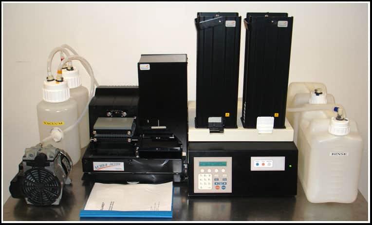 Bio-Tek ELx405 Microplate 96 384 Washer w Stacker M384 w WARRANTY