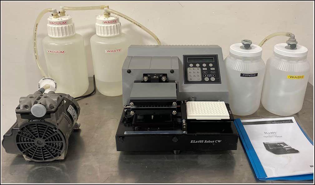 Bio-Tek Microplate 96 & 384 Washer ELx405 CWS COMPLETE System w WARRANTY