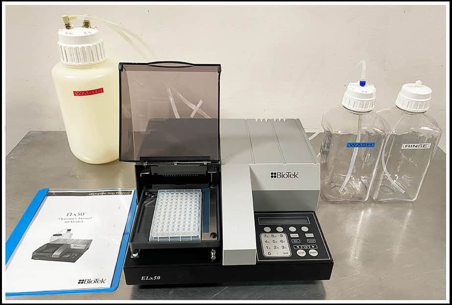 Bio-Tek Elx50 Microplate Washer 96 & 384 COMPLETE WARRANTY