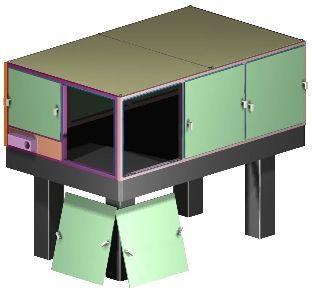 Optical Breadboard Enclosure