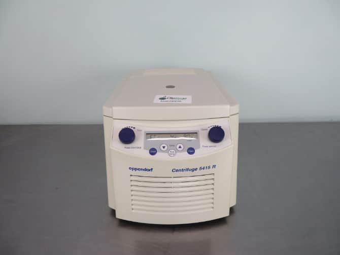 Eppendorf 5415R Refrigerated Centrifuge with Warranty