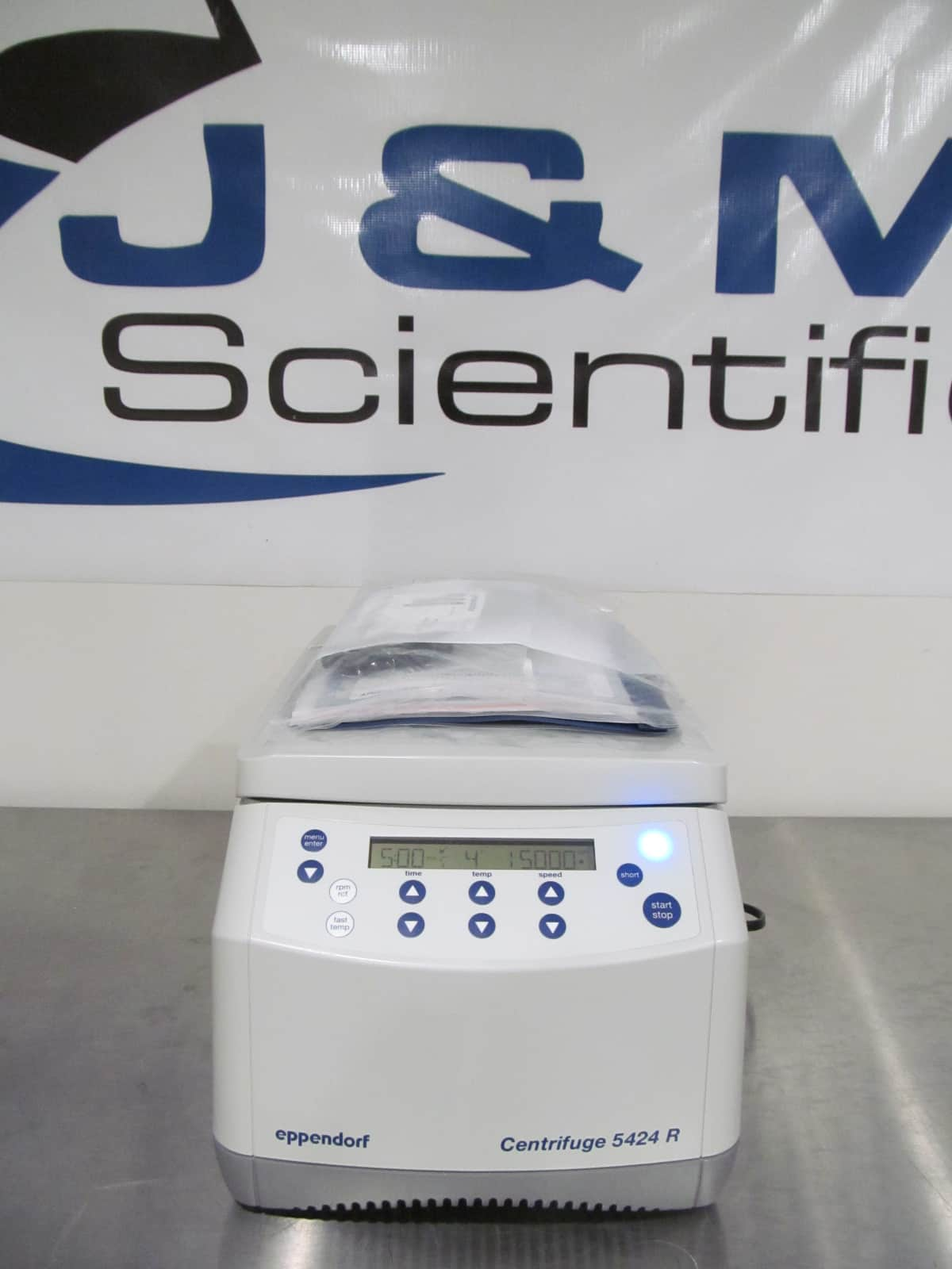 **DEMO** Eppendorf 5424R Refrigerated Micro Centrifuge 1-Year Warranty