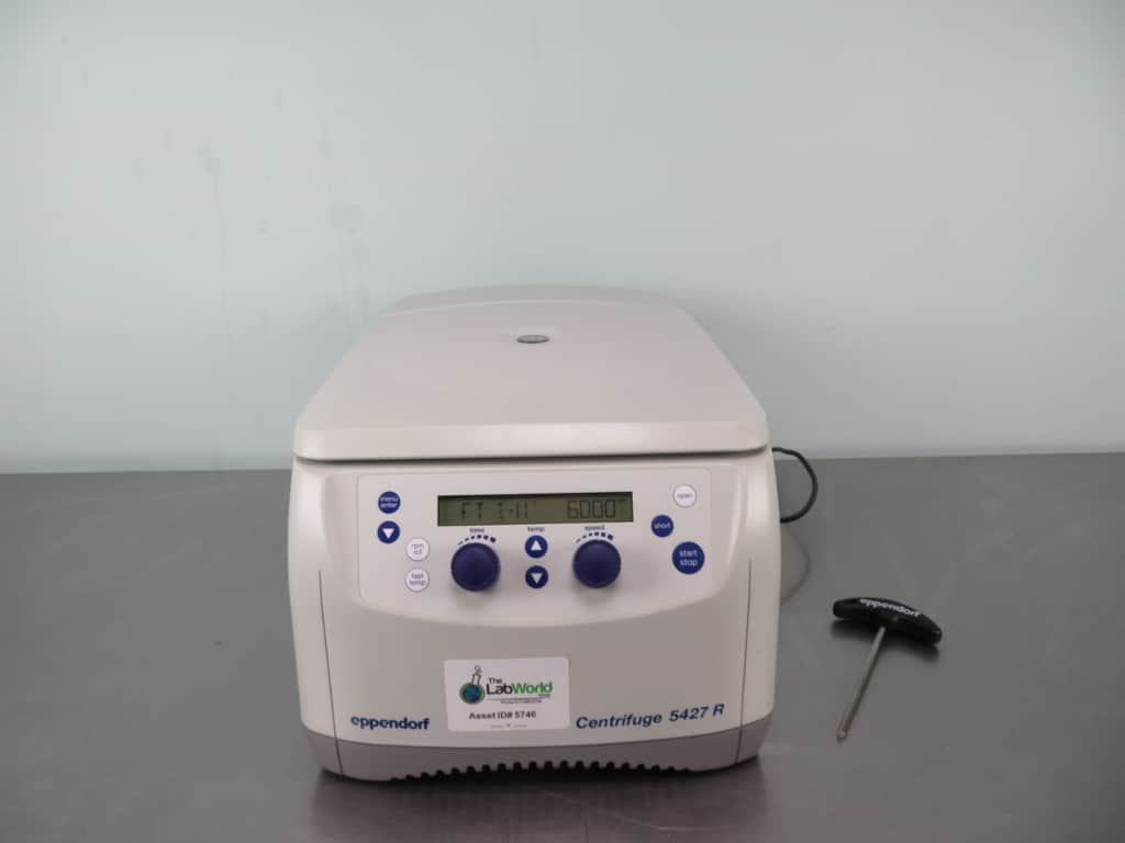 Eppendorf 5427R Refrigerated Centrifuge with Warranty