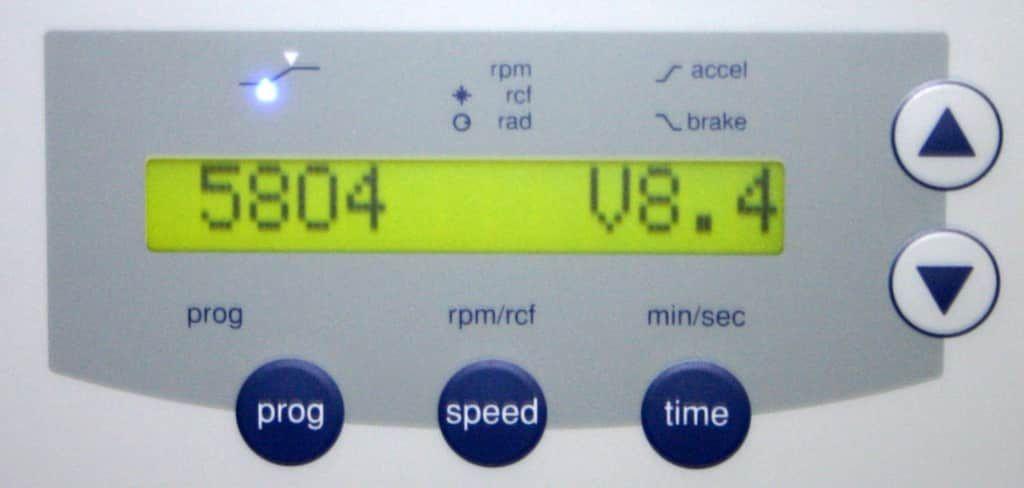 EPPENDORF CENTRIFUGE, MODEL 5804