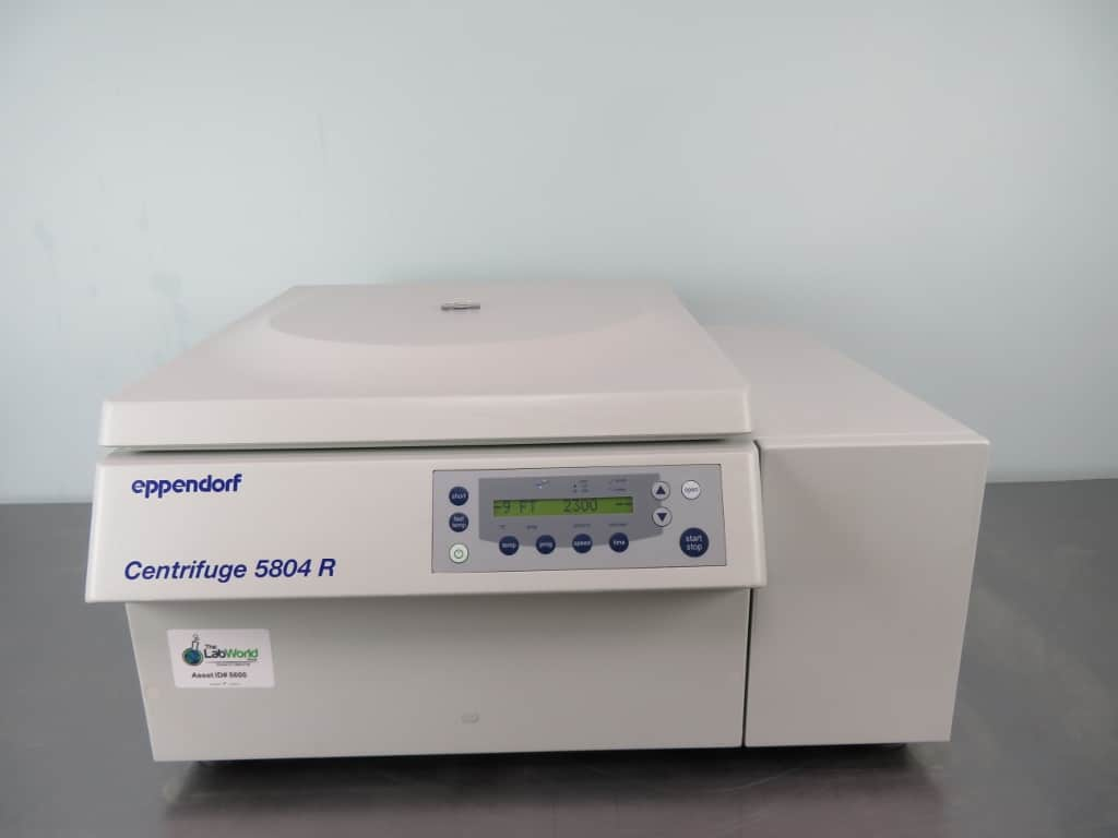 Eppendorf 5804R Refrigerated Centrifuge with Warranty