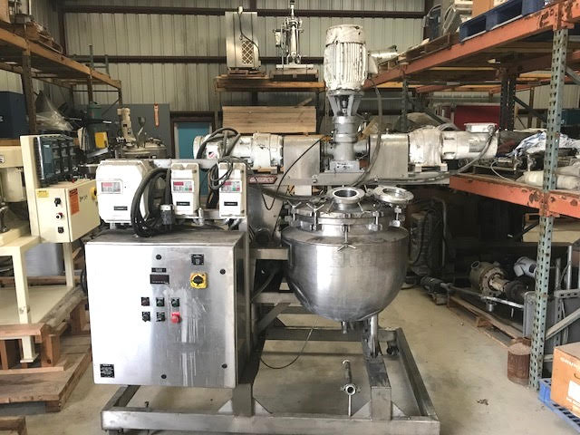30-Gallon Stainless Steel