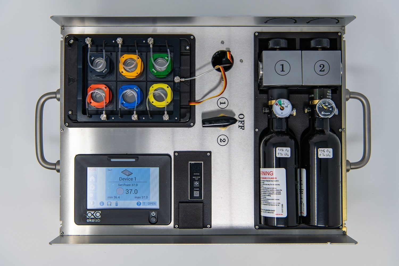 OxyGenie™ Miniaturized, Portable Incubation Platform