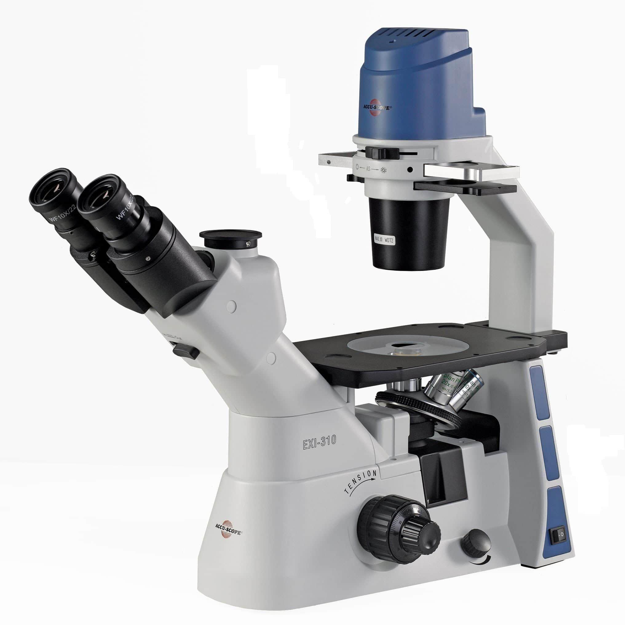 Accu-Scope EXI-310 Trinocular Inverted Microscope