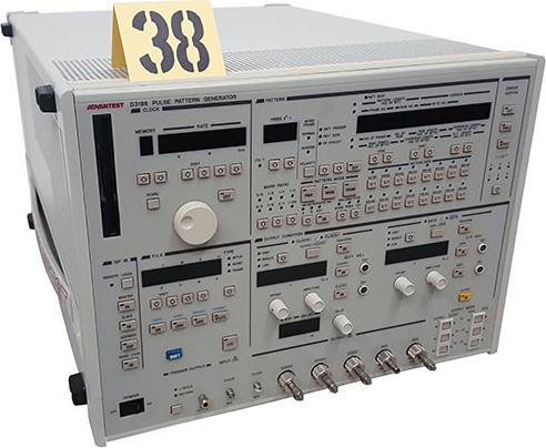 Advantest D3186 Test and Electronics Pulse Pattern Generator/Error