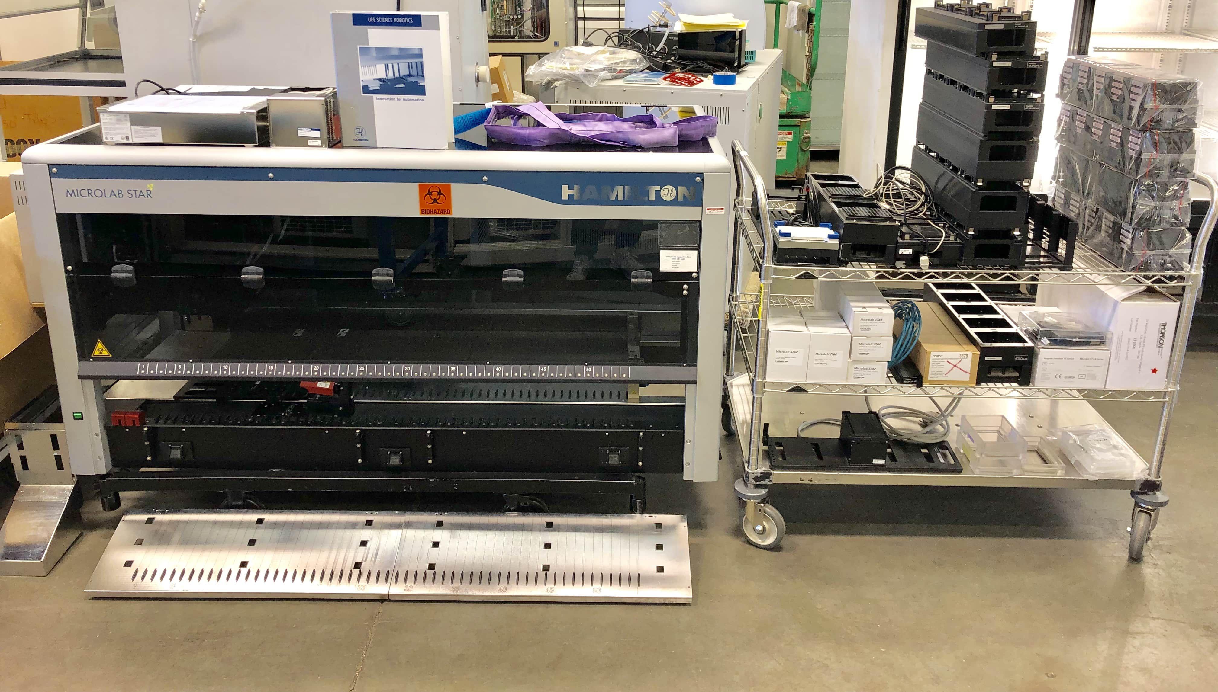 LOT Hamilton Microlab Star Liquid Handling System #173000