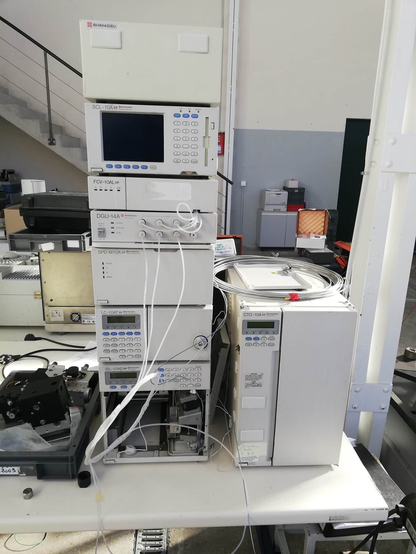 Shimadzu - 10A HPLC System