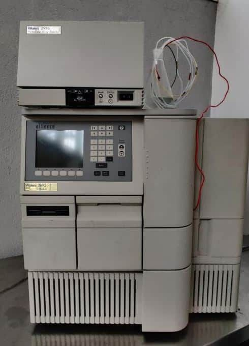 Alliance 2695 HPLC with Waters 2996 Photo Diode Array