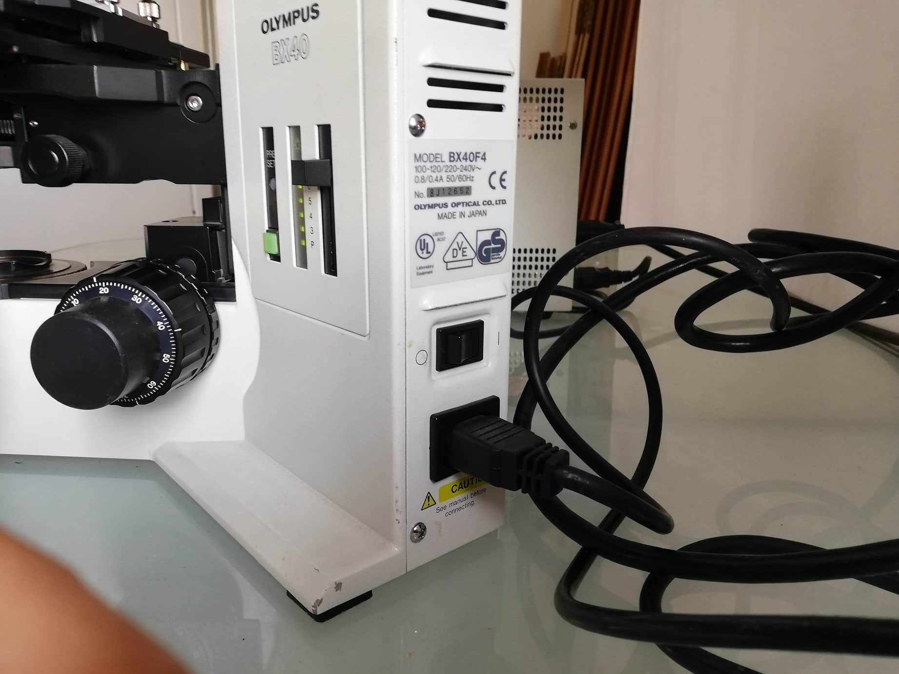 OLYMPUS BX40 Fluorescence Microscope