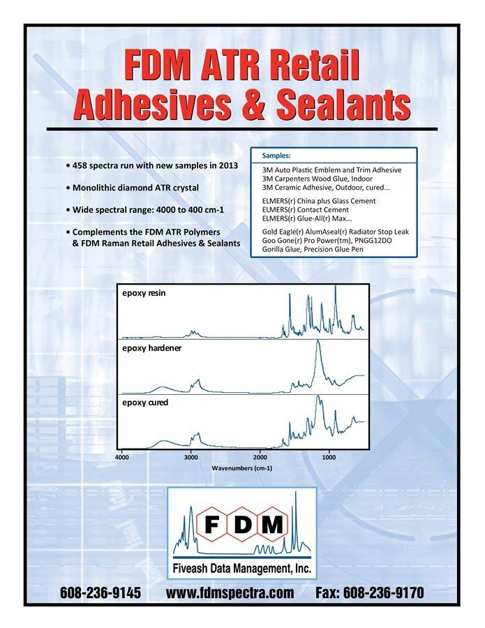 FTIR Adhesives Library