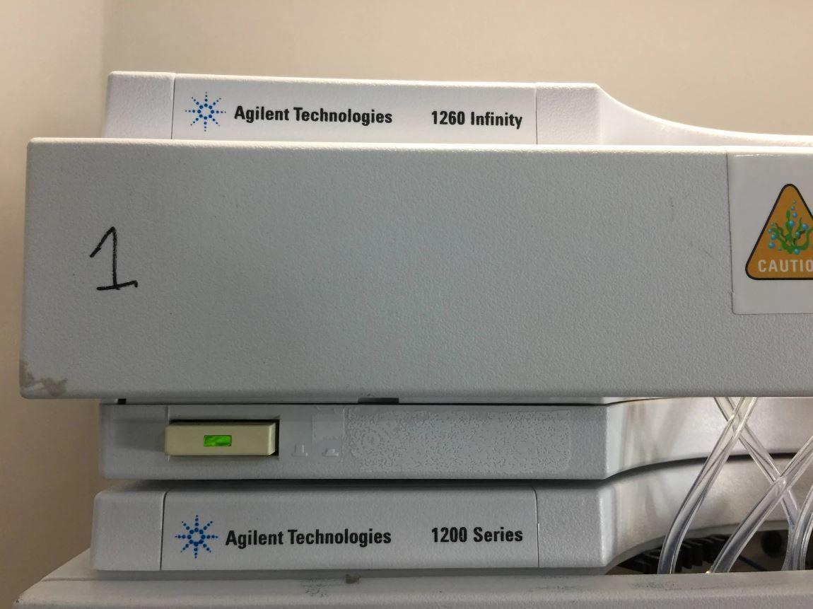 Agilent 1200 & 1260 Infinity Series HPLC System - Degasser, Nano Pump, Micro WPS, FC/ALS Therm & MWD
