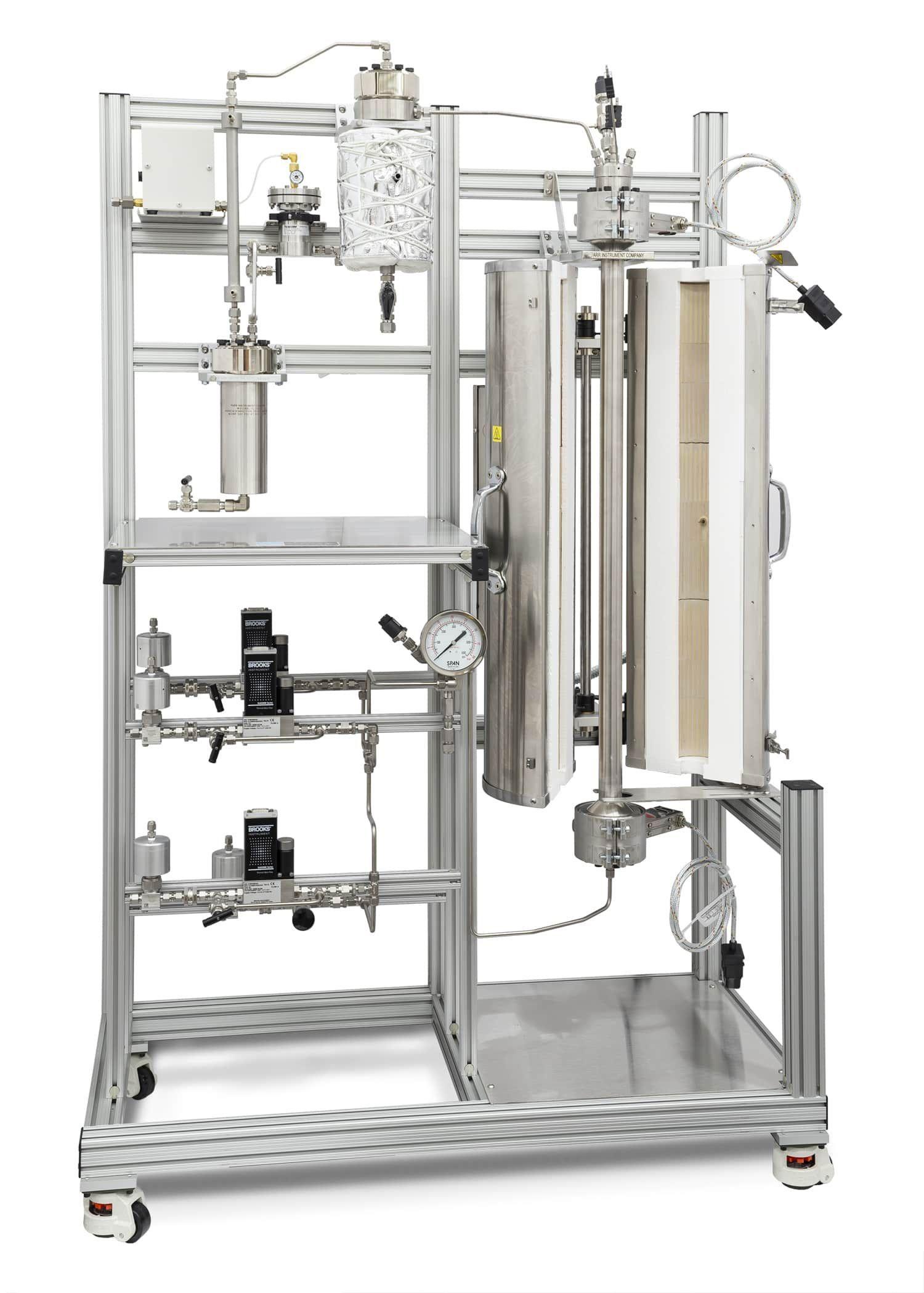 Parr Instrument 5410 Company Fluidized Bed Reactors
