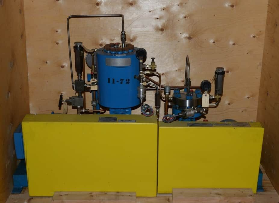 Fluitron Dual Stage High Pressure Pump