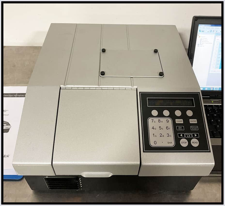 Bio-Tek FLx800 TBID MultiMode Fluorescence & Luminescence Reader w WARRANTY
