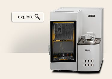 LECO 828 Series Carbon/Nitrogen/ Protein Determinator