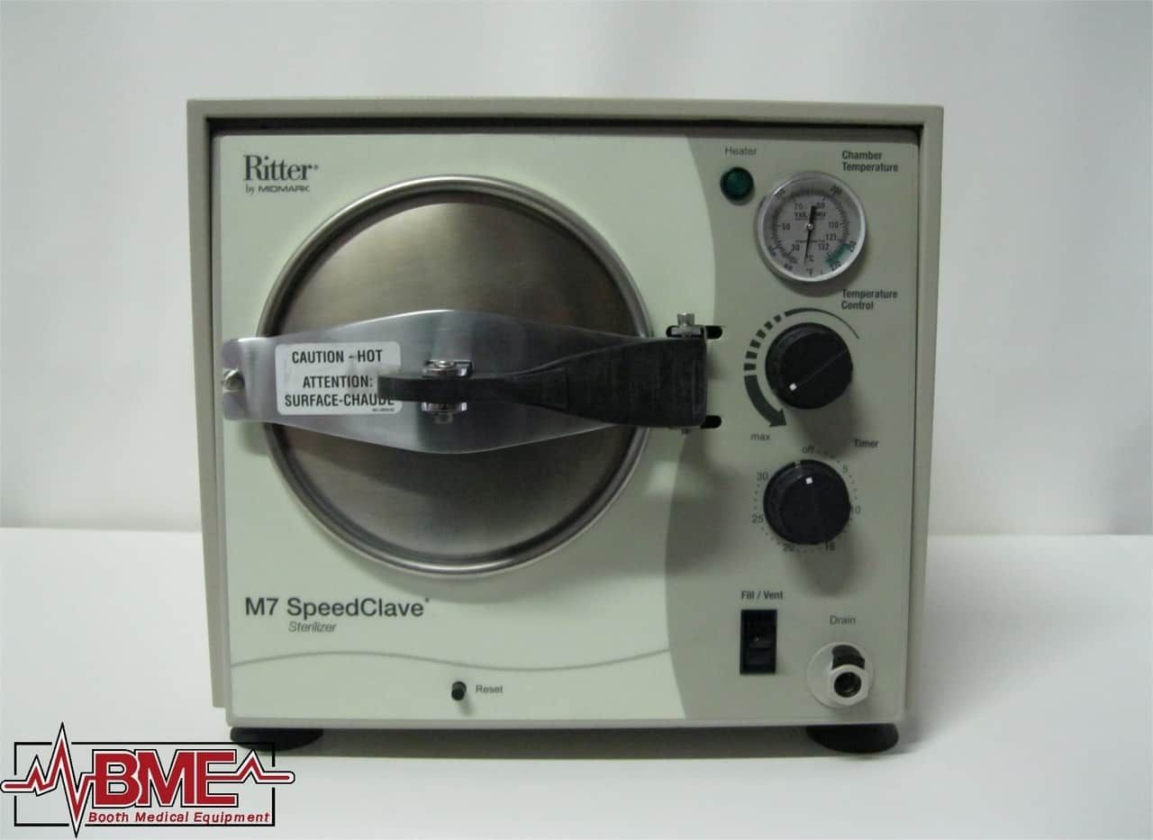 Midmark/Ritter M7-022 Refurbished Manual Autoclave