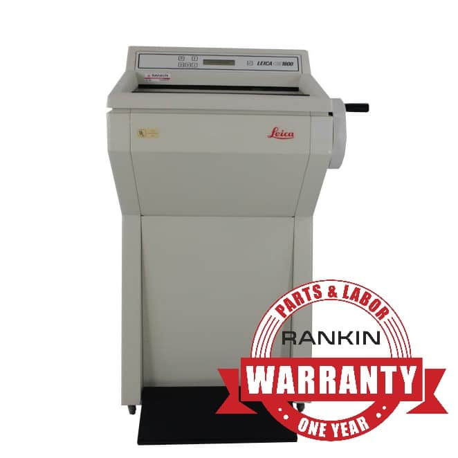 Leica CM1800 Cryostat | Rankin 1-Year Parts & Labor Warranty