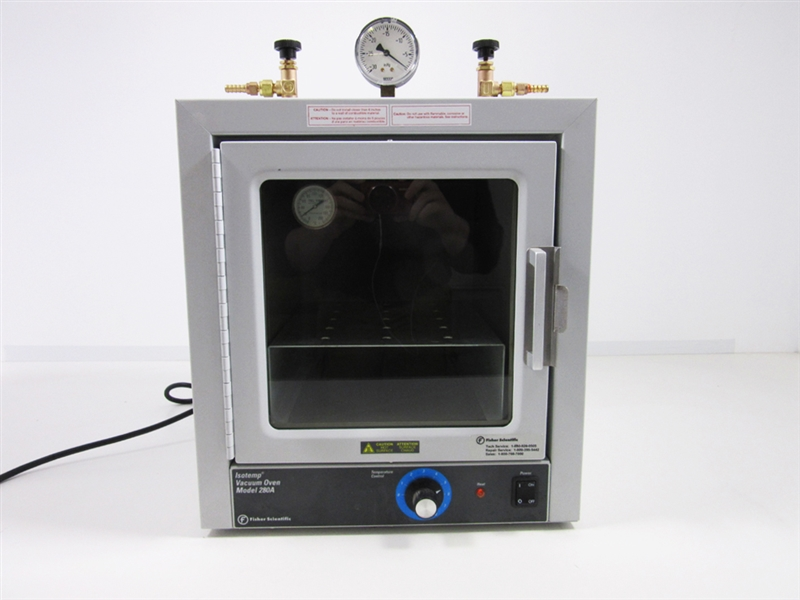 The Fisher Scientific Isotemp Vacuum Oven Model 280A