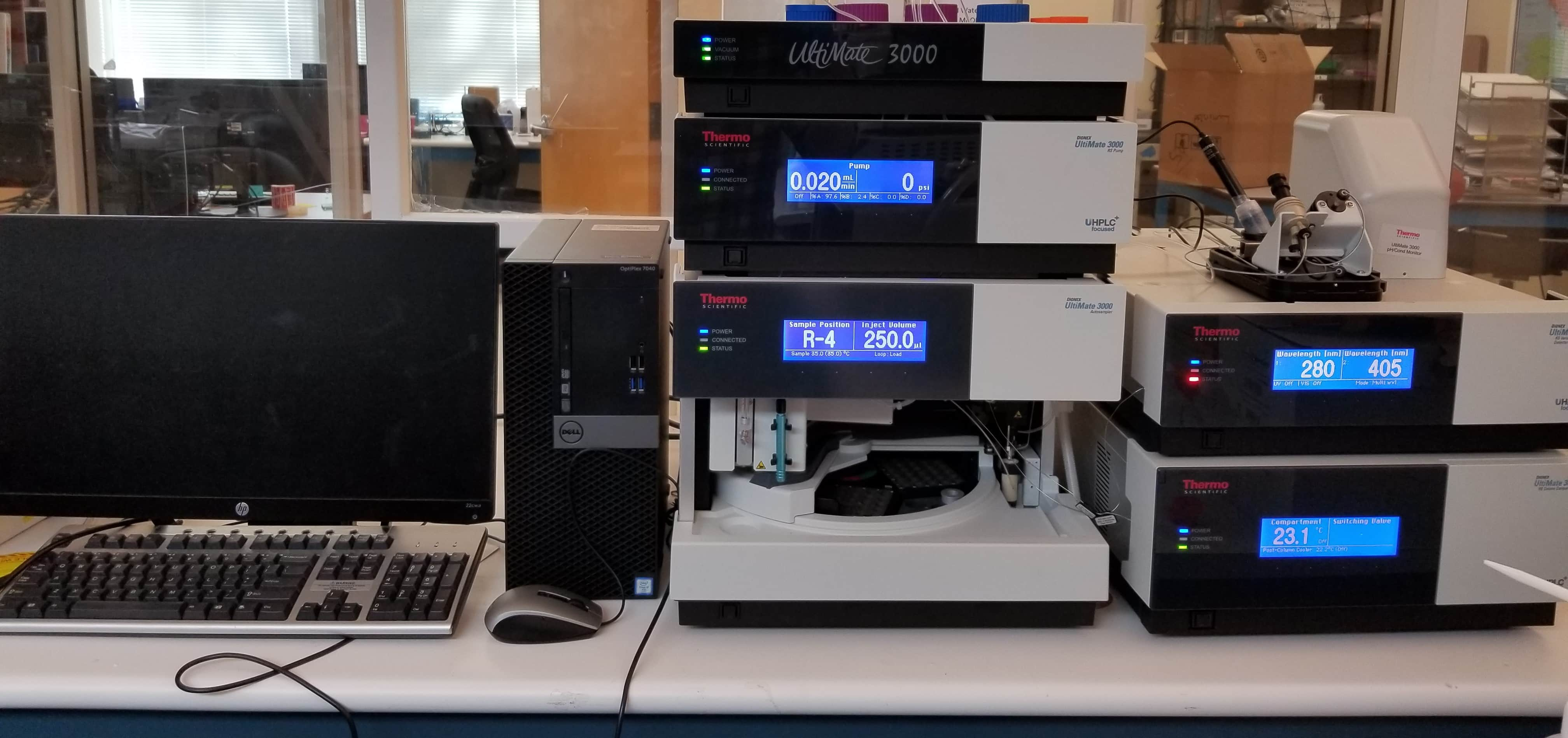 ThermoFisher UltiMate 3000 HPLC System With Accessories and Extended Warranty (Like New)